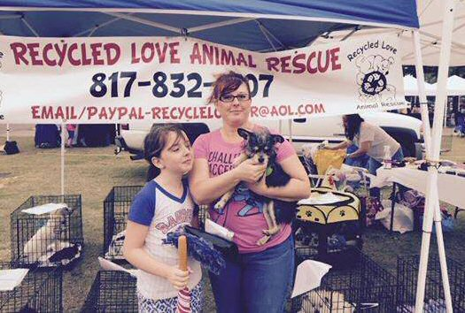 Recycled Love Animal Rescue events